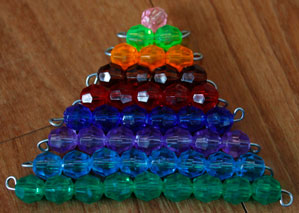 Colored Bead Stair