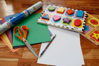 Colored Shape Supplies