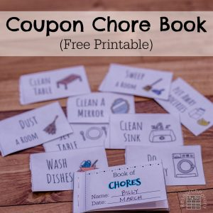 Coupon Chore Book