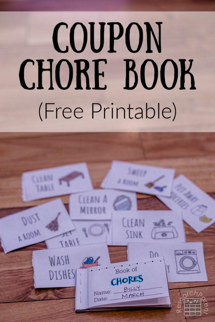 Coupon Chore Book