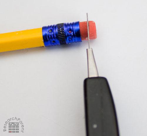 Cut End off Eraser