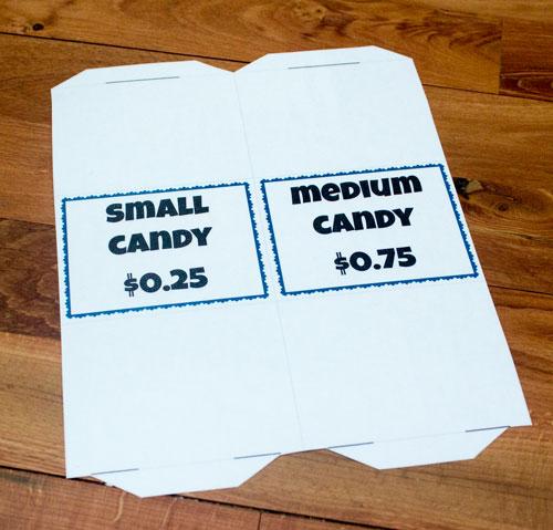 Cut out Food Labels