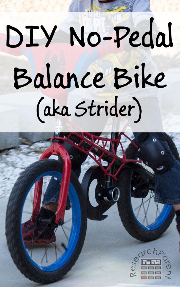 Diy No Pedal Balance Bike Researchparentcom