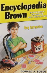Encyclopedia Brown Boy Detective by Donald J. Sobol