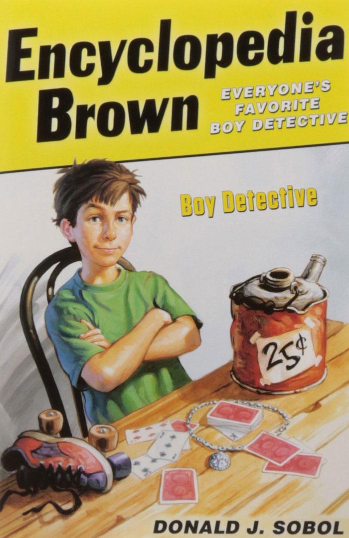 Encyclopedia Brown Boy Detective by Donald J. Sobol