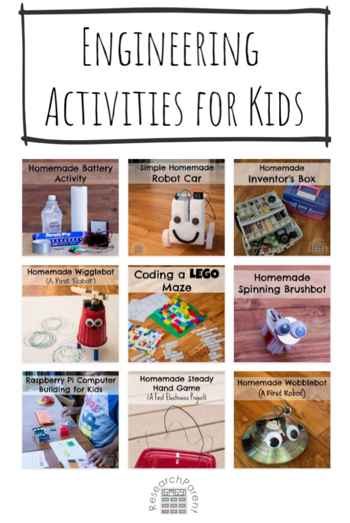 Engineering and Technology Activities for Kids