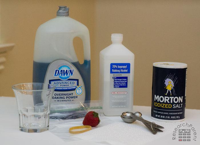 Extracting DNA supplies