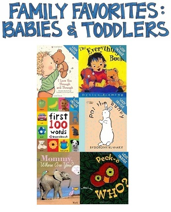 Our Family's Favorite Books for Babies and Toddlers