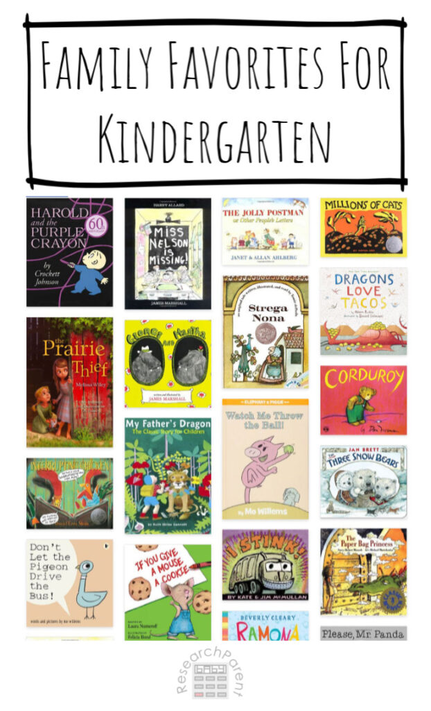 Family Favorites for Kindergarten