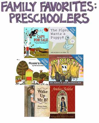 Favorites Books for Preschoolers