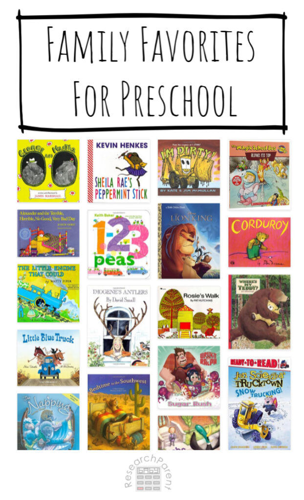 Family Favorites for Preschool