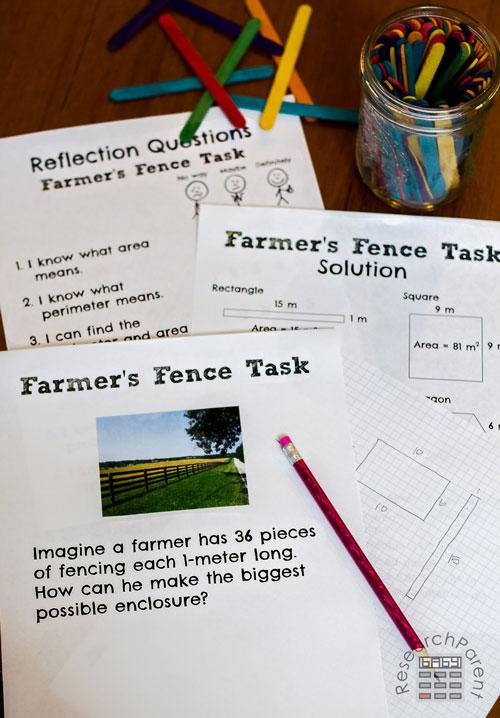 Farmer's Fence Task