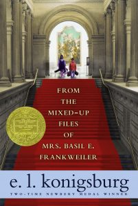 From the Mixed Up Files of Mrs Basil E Frankweiler by E L Konigsburg