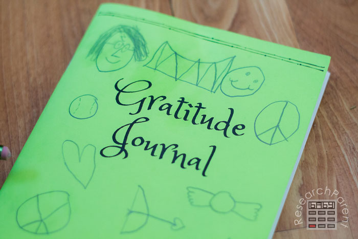 Gratitude Journal for Kids Decorated Cover