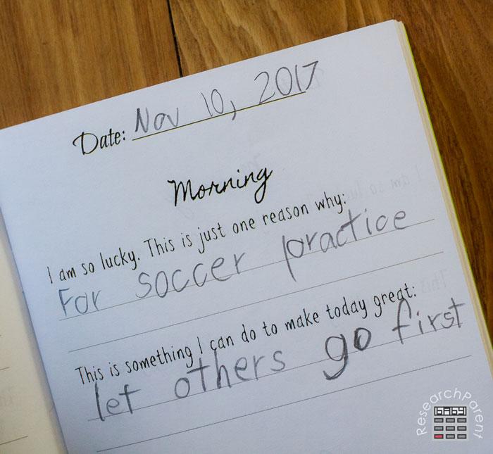 Gratitude Journal Morning Questions