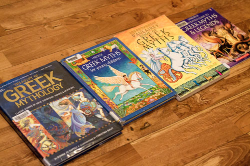 Greek Mythology Books