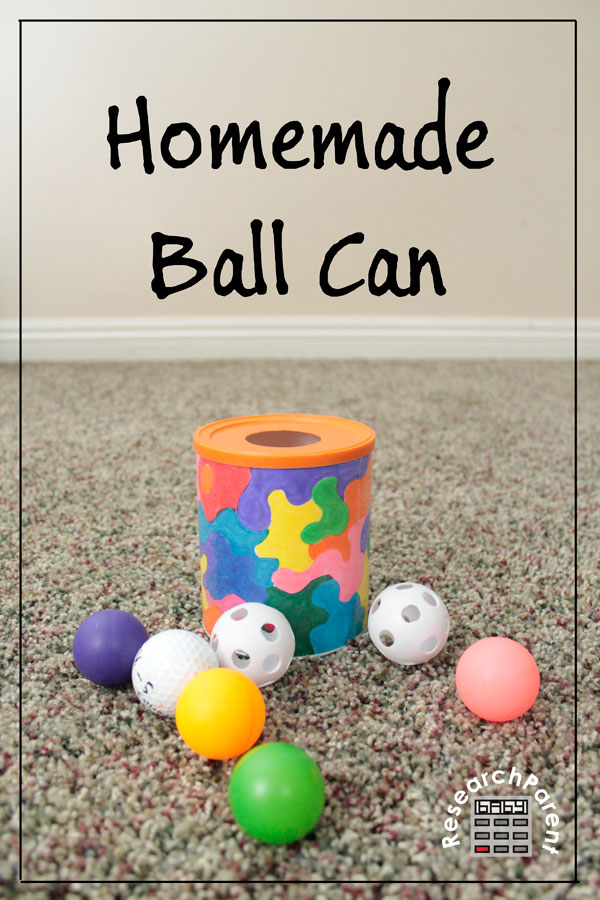 Homemade Ball Can by ResearchParent.com