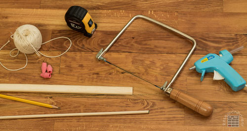 Homemade Bow and Arrow Supplies
