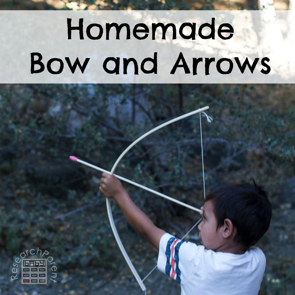 Homemade Bow and Arrows - ResearchParent com