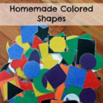 Homemade Colored Shapes