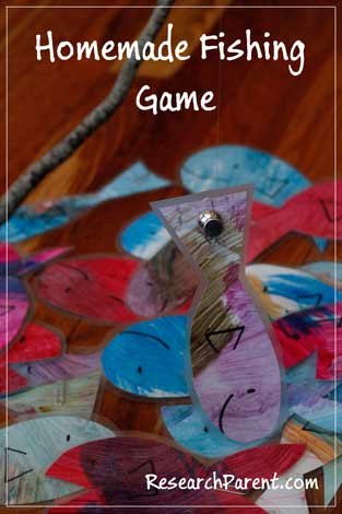 Homemade Fishing Game by ResearchParent.com