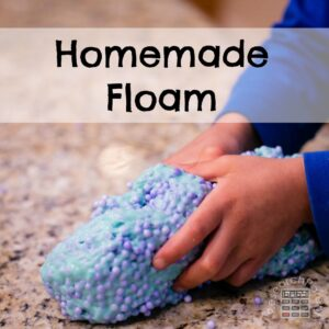 Homemade Floam