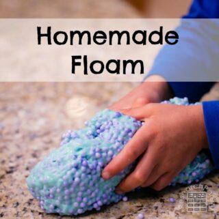 Homemade Floam