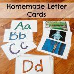 Homemade Letter Cards
