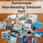 Homemade Non-Reading Treasure Hunt