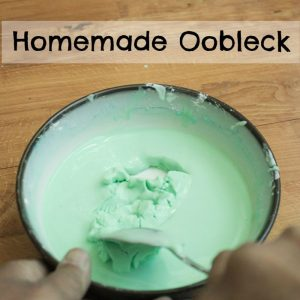 Homemade Oobleck