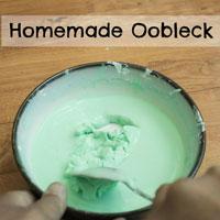 Homemade Oobleck