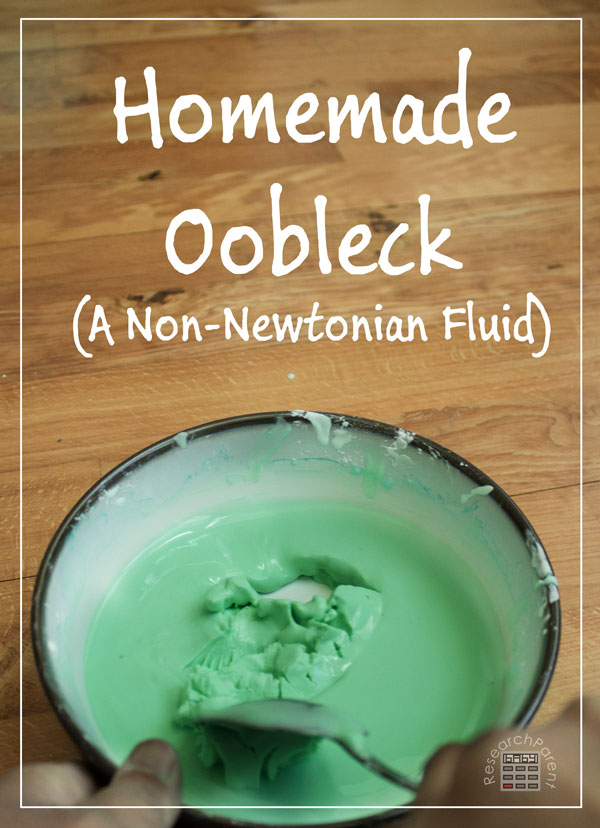 Homemade Oobleck by ResearchParent.com