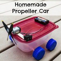 Homemade Propeller Car