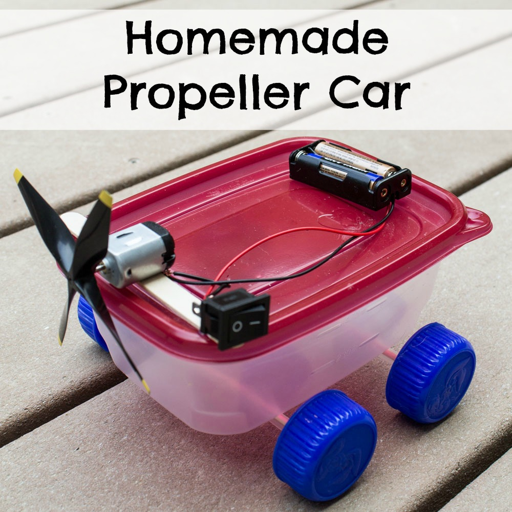 Homemade Propeller Car