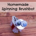 Homemade Spinning Brushbot