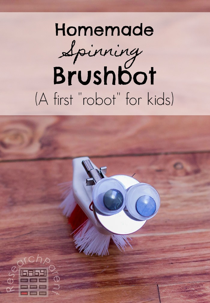 Homemade Spinning Brushbot
