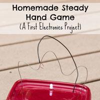 Homemade Steady Hand Game