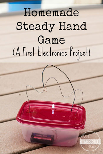 Homemade Steady Hand Game - A First Electronics Project