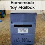 Homemade Toy Mailbox