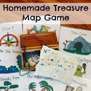 Homemade Treasure Map Game