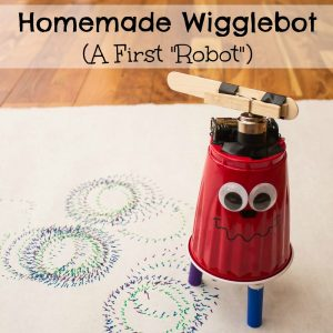 Homemade Wigglebot
