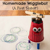 "Homemade Wigglebot A First ""Robot"""