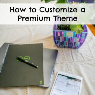 How to Customize a Premium Wordpress Theme