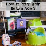 How to Potty Train Before Age Two