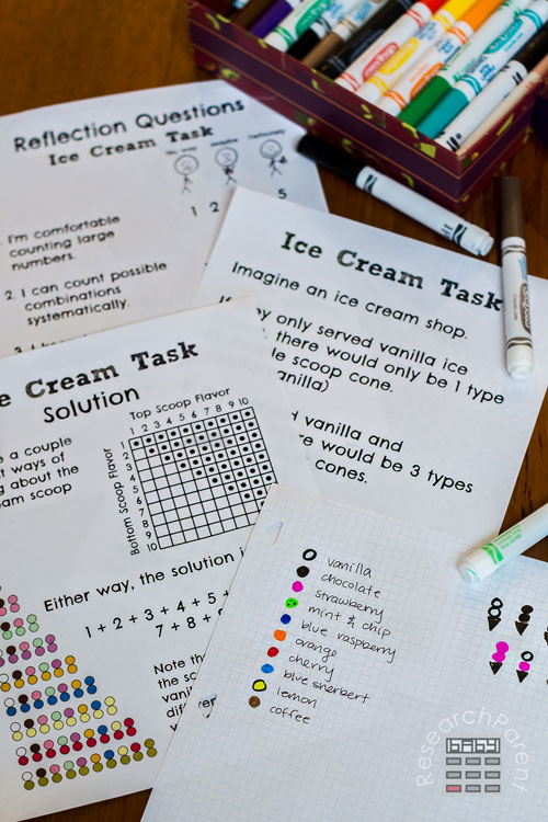 Ice Cream Task