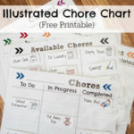 Illustrated Chore Chart