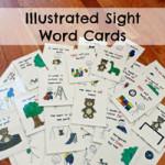 Illustrated Sight Word Cards