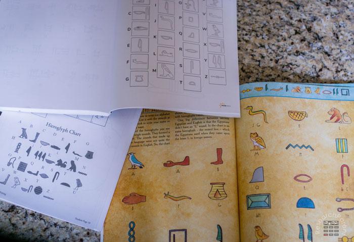 Hieroglyphs Book Insides