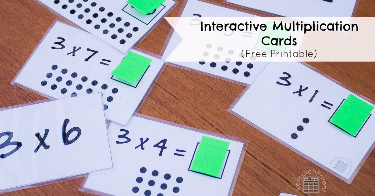 Interactive multiplication cards - Multiplication table interactive ...