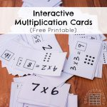 Interactive Multiplication Cards